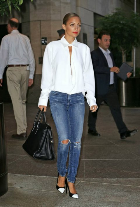 Images of Classic White Blouse Shirt - Fashion Trends and Models