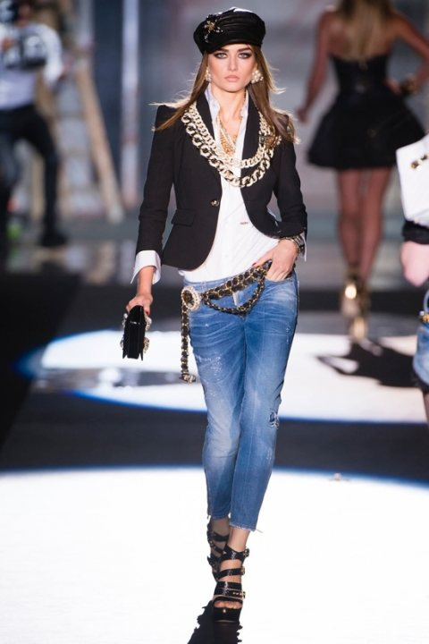 DSquared SS 2012 at Milan Fashion Week