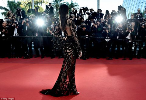 Kendall Jenner Turn Heads at Cannes