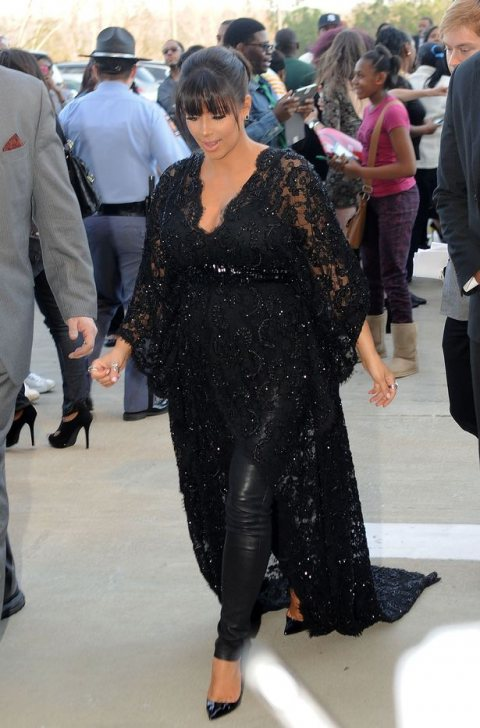 Kim Kardashian at Red Carpet Movie Screening