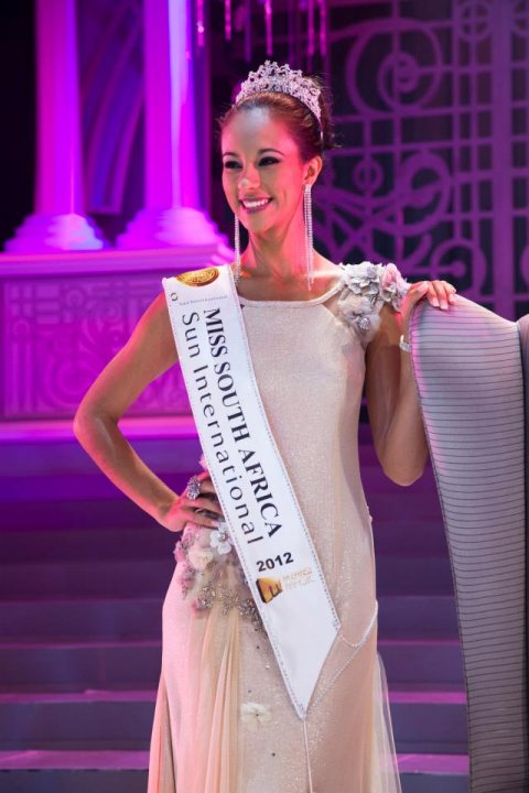 Miss South Africa 2012: Marilyn Ramos