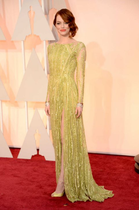 The Best Red-Carpet Looks From the 2015 Oscars
