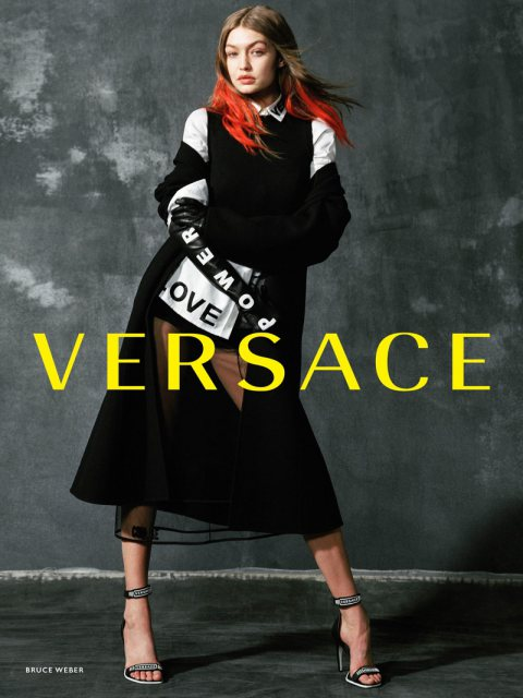 VERSACE'S FALL 2017 CAMPAIGN