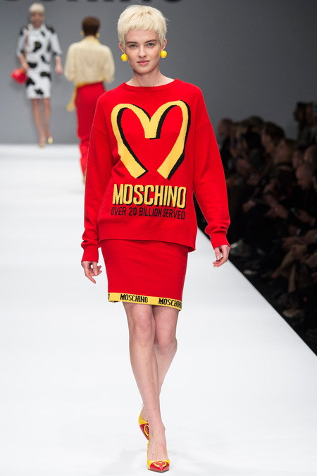 Moschino Fall 2014 Milan Fashion Week