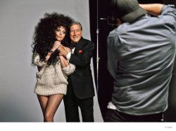 Lady Gaga and Tony Bennett for H&M