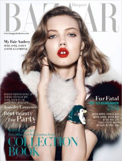 Harper's Bazaar Korea December 2014