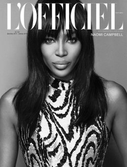 Naomi Campbell for L'Officiel Ukraine!