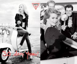 30 Sexy Years with GUESS and Claudia Schiffer