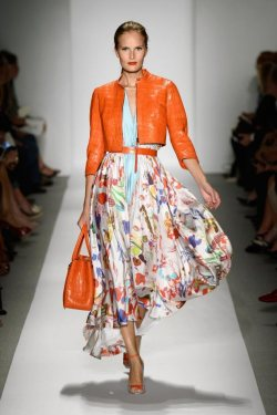 A Pop of Orange for SS 2014