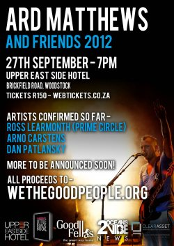Ard Matthews and Friends Charity Concert