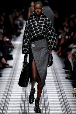 Balenciaga Does Cocoon Shapes for Fall 2015