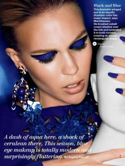Beauty - Be Bold in Blue!