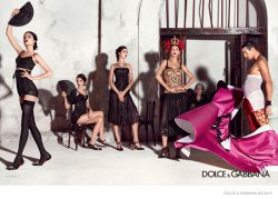 Bianca Balti for D&G Spring 2015