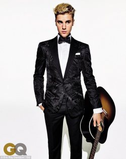 BIEBER'S FIRST GQ COVER SHOOT