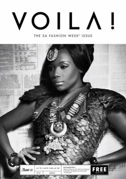 Bonang Matheba on the cover of VOILA magazine
