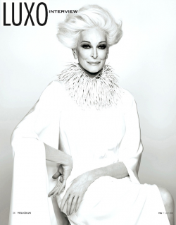 Carmen Dell'Orefice Style Icon of  All Time