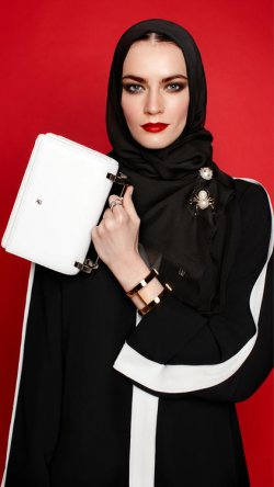 We Love To Shop Here - Carolina Herrera Launches Abayas and Hijabs!