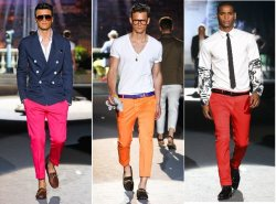 Coloured Pants Trend for the Guys