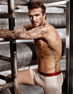 David Beckham Bodywear at H&M Spring 2014