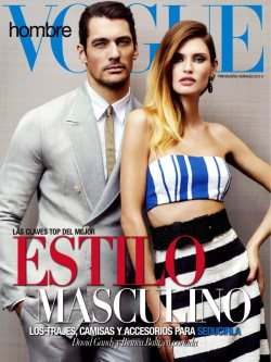 David Gandy and Bianca Balti for Vogue Hombre