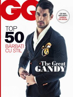 David Gandy Covers GQ Romania