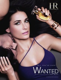 Demi Moore fragrance for Helena Rubinstein
