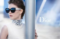 Diana Moldovan by Peter Lindbergh for Dior Eyewear