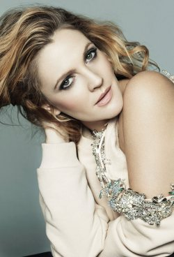 Drew Barrymore for Marie Claire US