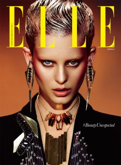 Elle Mexico Rocks Punk Fashion