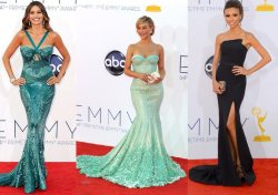 Fashion at the 64th Annual Emmy Awards 2012