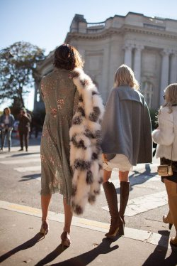 Fur Became a Fashion Favorite!
