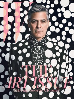George Clooney for W Magazine Dec 2013