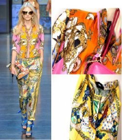 Get the Scarf Print Look