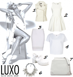 Get The White on White Look
