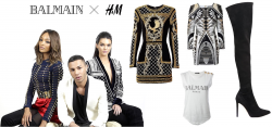 Get the Balmain Look with H&M!