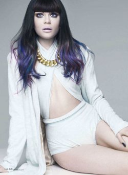 Jessie J for American Elle Magazine