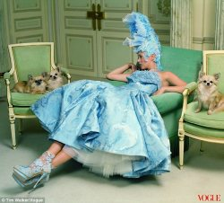 Kate Moss gives Marie Antoinette a run for her money
