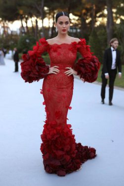 Katy Perry Brings her A-Game to Cannes