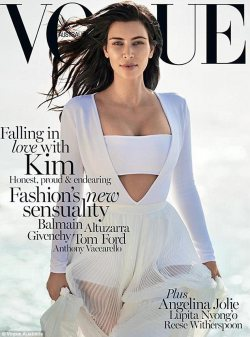 Kim Kardashian for Vogue Australia Feb 2015!