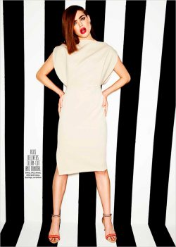 Kyla Moran for Cosmopolitan Fashion UK by Tom Corbett