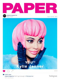 Kylie Jenner for Paper Magazine...