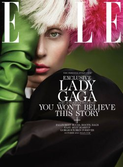 Lady Gaga for ELLE US