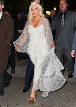 Lady Gaga out in New York City!