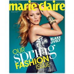 Marie Claire South Africa September Issue 2012