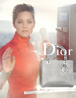 Marion Cotillard for Lady Dior by Peter Lindbergh