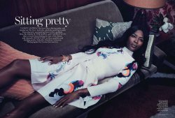 Naomi Campbell for Vogue Australia