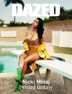 Nicki Minaj Shows Two Sides for Dazed Fall/Winter 2014 Shoot