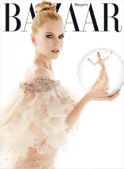 Nicole Kidman for Harper's Bazaar December 2013