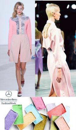 Pastels at New York Fashion Week 2014