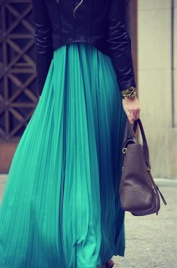 Pretty with Pleats